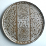 Thrown and Painted Mimbres Plate