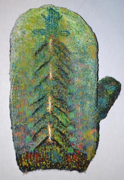 Knitting Oils : Knitted canvasses miranda aisling