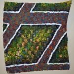 checkered-2011-oil-paint-on-knitted-canvas