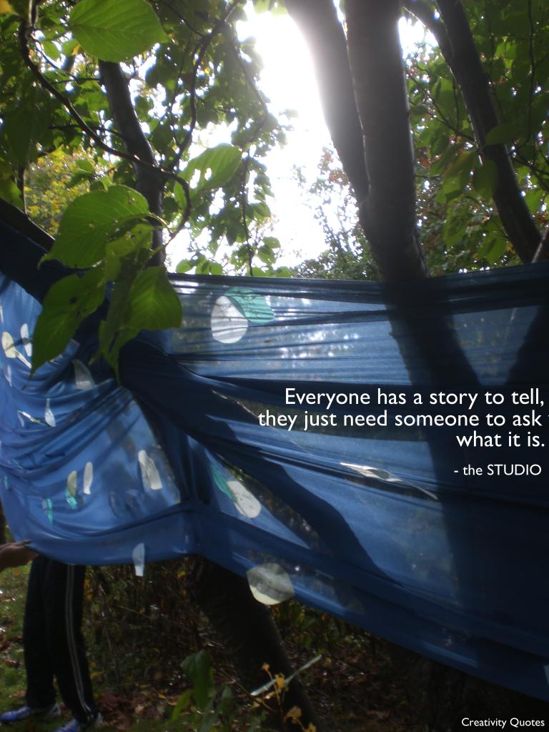 STUDIO's Story Quote