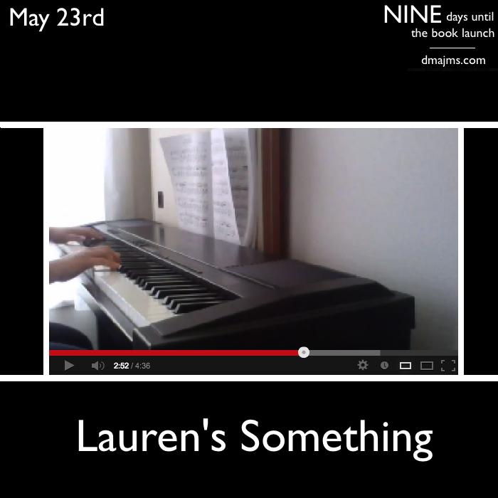 May 23, Lauren's Something