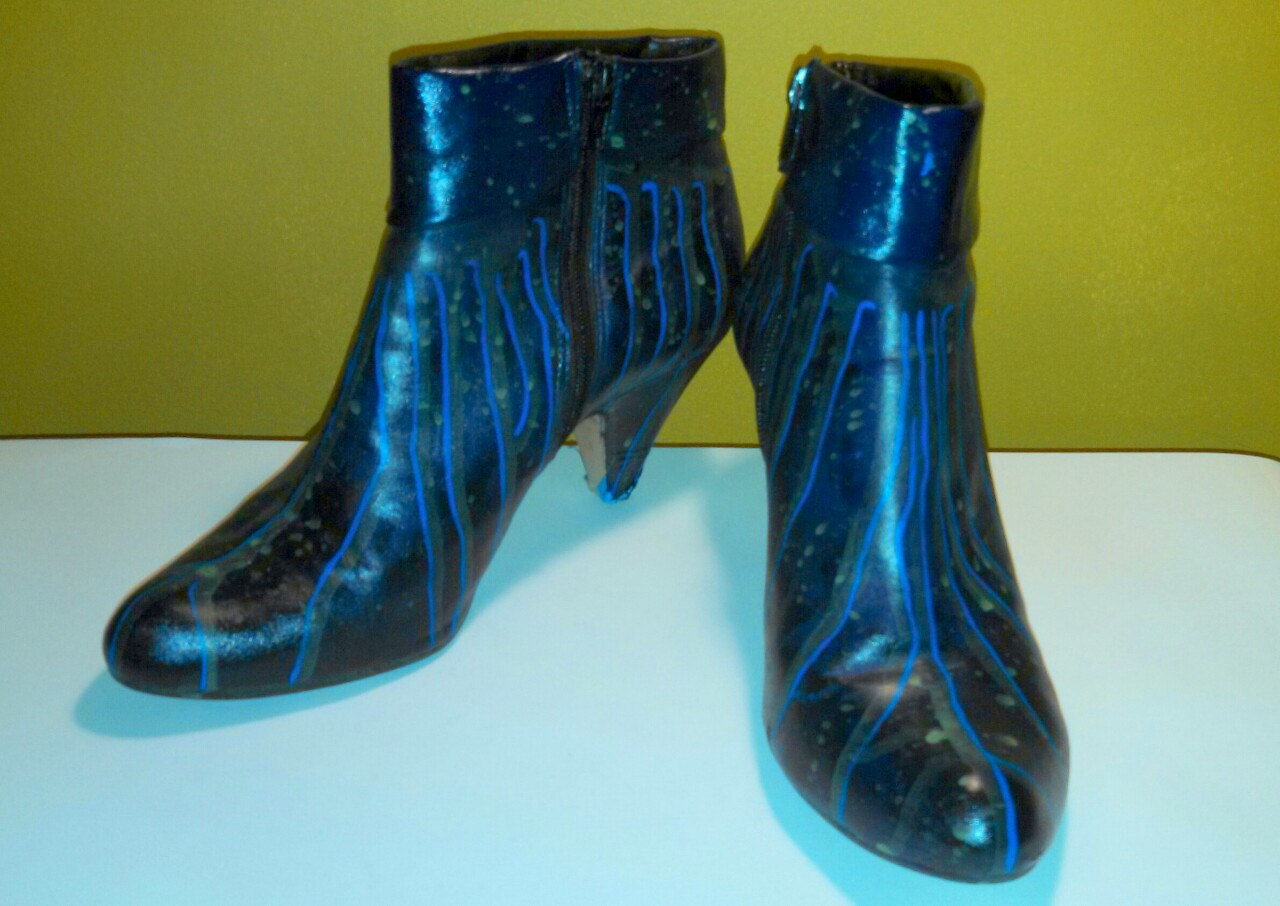 Idea No. 232: Painted Boots