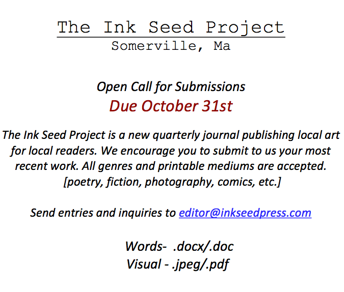 Idea No. 249: The Ink Seed Project
